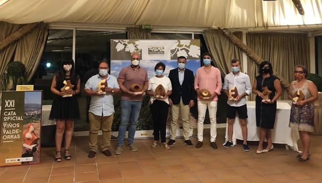 Vinos premiados en la XXI Cata Oficial de los Vinos de Valdeorras