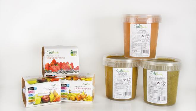 La firma está especializada en la elaboración de purés de fruta y cremas y sopas de verduras y hortalizas.