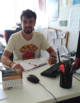 Roberto Agrelo, técnico do Concello de Rois.