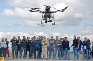 Así traballan os drons da Xunta na loita e prevención de incendios