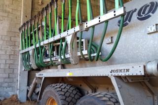 Inxectores de aplicación de xurro da granxa.
