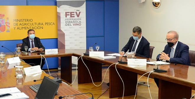 La Asamblea General de la Federación Española del Vino se cerró con un encuentro virtual sobre la situación actual del sector y las perspectivas futuras a corto y largo plazo