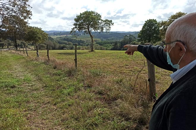 Finca de 90 hectáreas busca granxeiro en ecolóxico