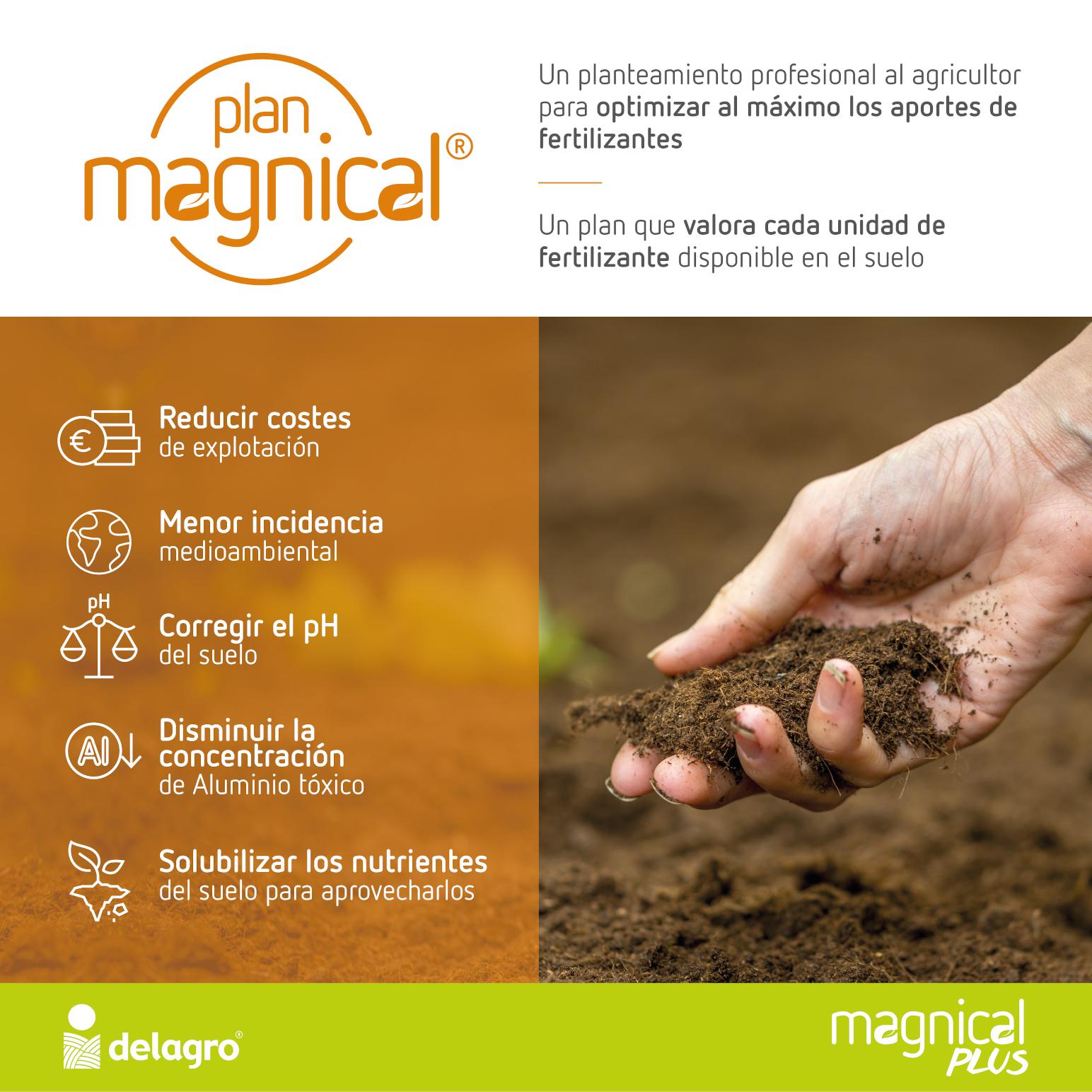 Delagro consigue la certificación ecológica de sus calizas magnesianas y lanza su Plan Magnical®