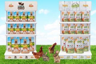 De Heus renova a imaxe dos seus produtos Biona e Pasaranda para aves e coellos