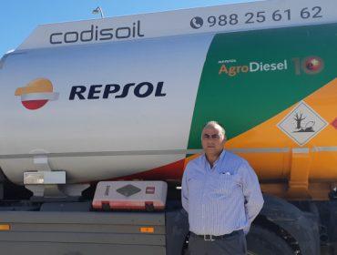 """""""O gasóleo agrícola de Repsol rende máis e coida da maquinaria"""""""
