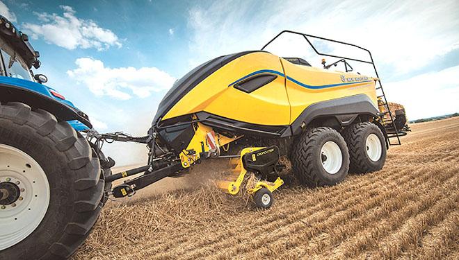 New Holland presenta as súas novidades en tractores e no segmento de recolección
