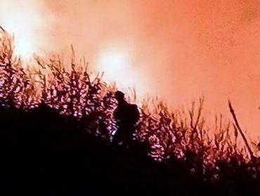 Ourense arde sobre queimado