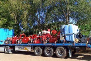 Xornada demostrativa de mecanización da horta en Sergude