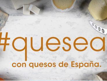 """Lanzan """"Quesea"""", unha campaña para promover o consumo de queixos españois"""