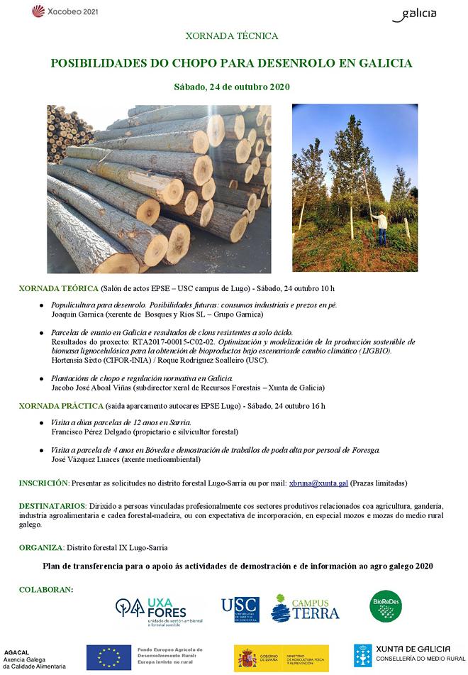 xornada aproveitamento forestal chopos