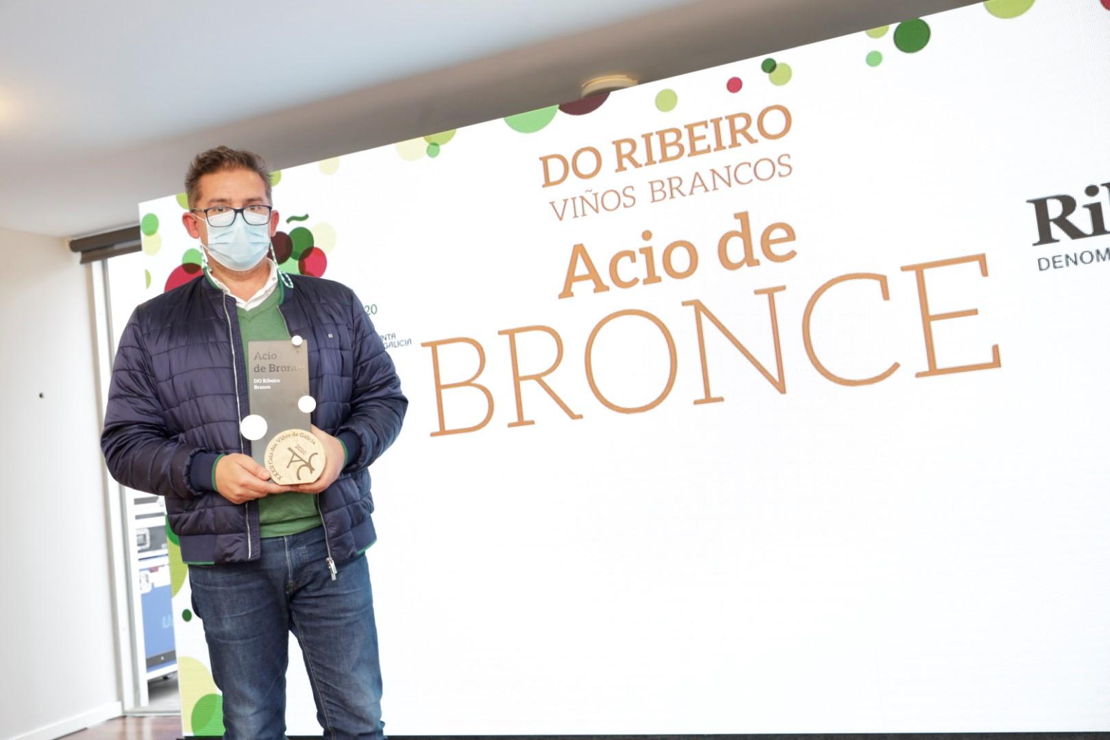 201112_MR_Gañadores Catas de Galicia_DO Ribeiro BRANCO ACIO DE BRANCE