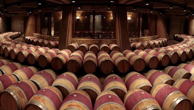 Buena parte de sus vinos permanecen en barricas de roble francés.
