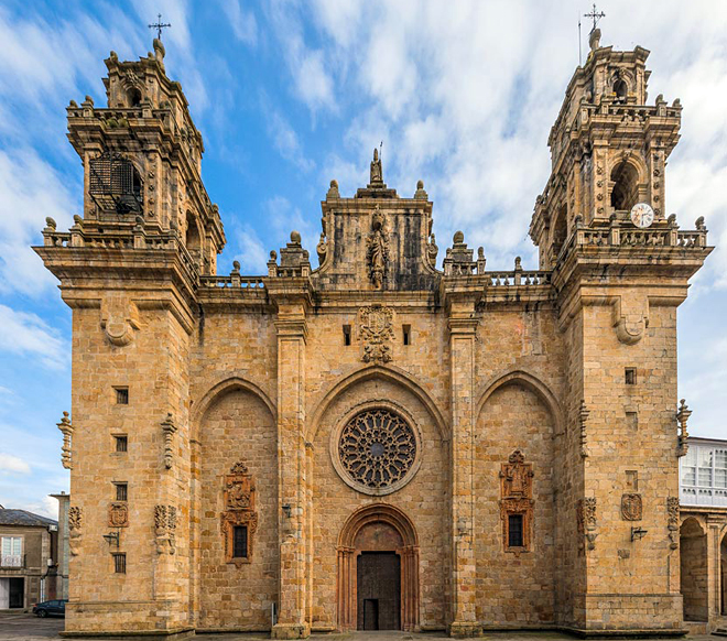 A rehabilitación da catedral de Mondoñedo será unha das intervencións analizadas