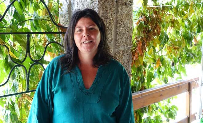 Paula Oliveira, en Cabril.