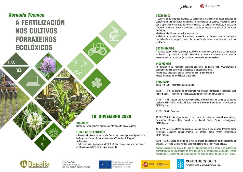 xornada fertilizacion cultivos ECO