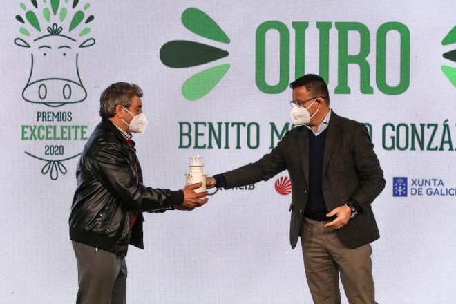 Estas son as gandarías co mellor leite de Galicia en 2020