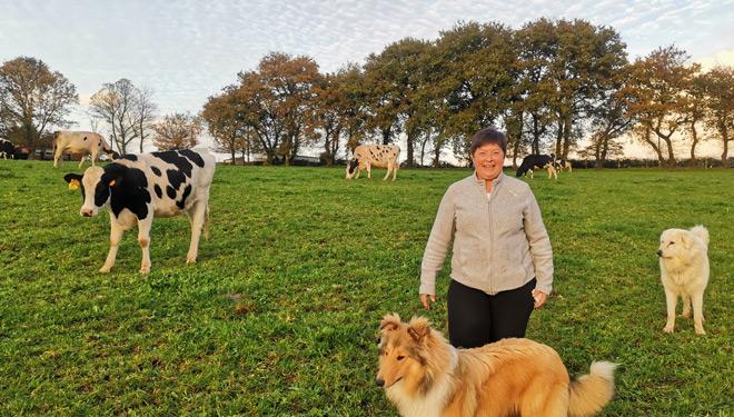 Granxa Curiscada: Cambiar de intensivo a ecológico y a la producción artesanal de quesos