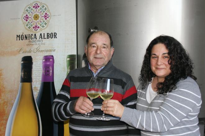 """O adegueiro Alfonso Albor recibirá o premio """"Vida entre vides"""" da D.O. Ribeiro"""
