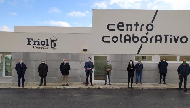 O concello lucense de Friol inaugura o Centro Colaborativo para o impulso económico do municipio