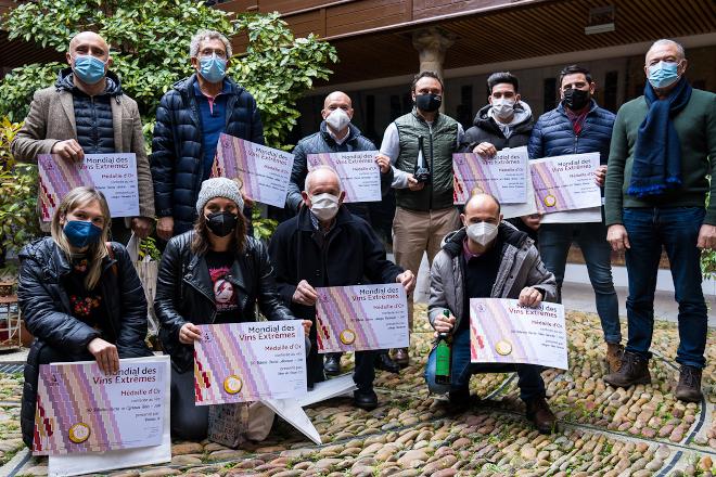 Viños da D.O. Ribeira Sacra premiados no Mondial des Vins Extremes