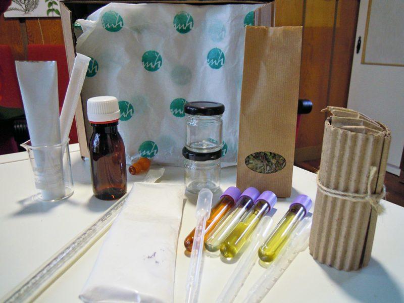 O kit para a elaboración de produtos na casa