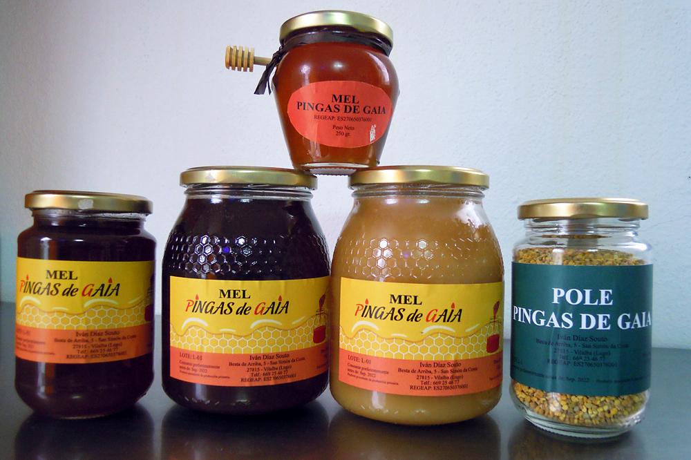 PINGAS DE GAIA produtos