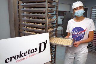 Croketas D', elaboracións gourmet feitas con produtos galegos