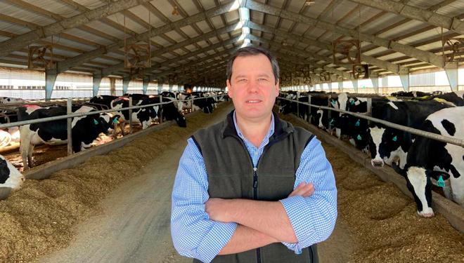 """""""Hoxe en EEUU un 5% das granxas muxe case o 60% do total de vacas leiteiras do país"""""""