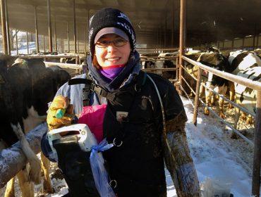 """""""O leite pódenos dicir moito sobre o estado da vaca individual e sobre a saúde do rabaño"""""""