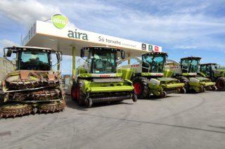 Aira inviste máis de 1,5 millóns de euros en renovar e ampliar o seu parque de maquinaria
