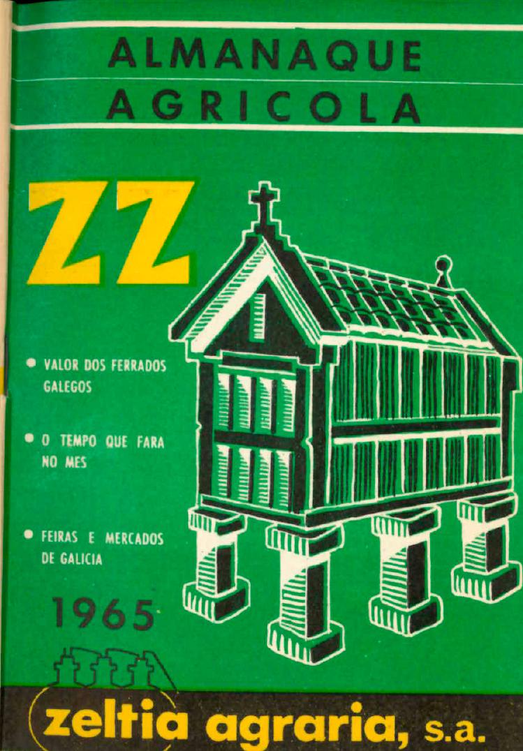 Portada Almanaque 1965