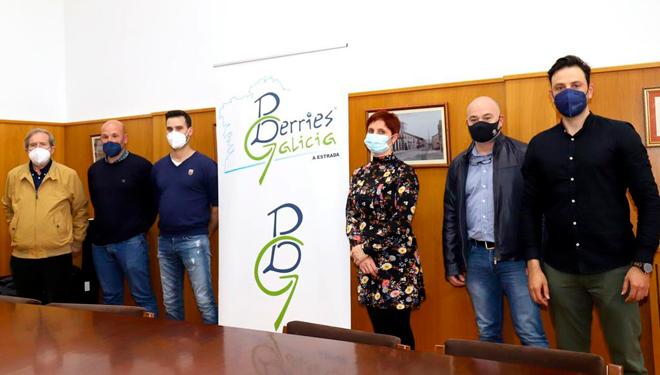 Presentan a asociación de produtores Berries Galicia