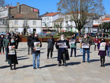 Concentracións de protesta contra o Plan Forestal de Galicia no Día Internacional dos Bosques
