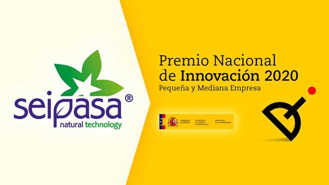 Seipasa, Premio Nacional de Innovación 2020.