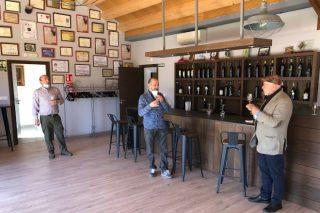 Valdeorras aposta por promocionar os seus viños tostados
