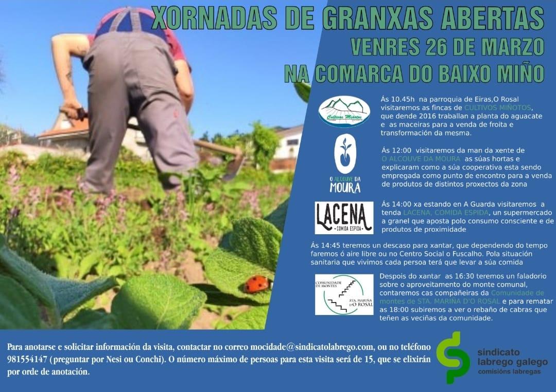 XORNADAS GRANXAS ABERTAS SLG