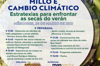 [EN DIRECTO] – Xornada 'Millo e cambio climático: como enfrontar as secas do verán'