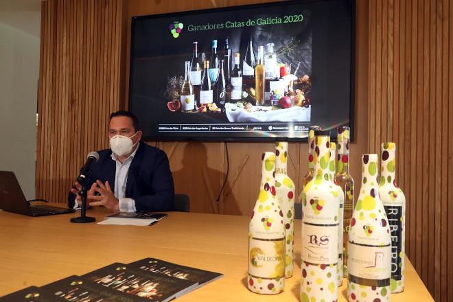 As catas dos viños e augardentes de Galicia tamén premiarán este ano a mellor botella e etiqueta