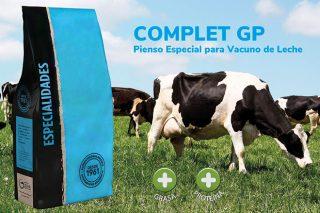 Complet G-P, un penso complementario que mellora a graxa e proteína do leite