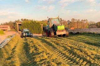 Ensilado de herba 2021: boa calidade pero menos cantidade ó adiantarse a campaña