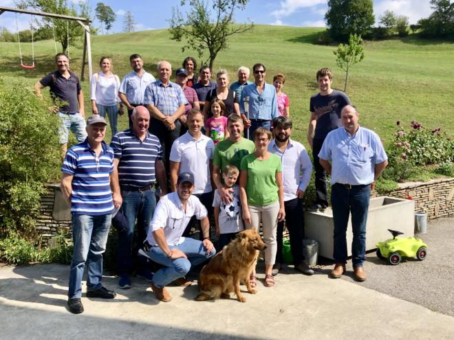 Delegación internacional no marco do AGROTOUR geneticAUSTRIA (Con participación de gandeiros de España, Turquía, Alxeria, Reino Unido, Irlanda do Norte)