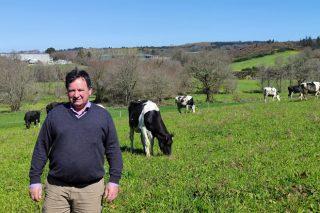 Gandería Vence, a granxa dun dos promotores do cooperativismo gandeiro en Galicia