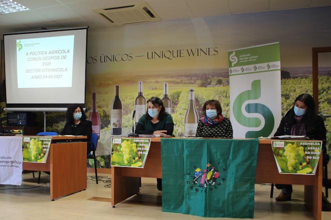 """O Sindicato Labrego advirte dunha """"tormenta perfecta"""" para o modelo galego de pequena viticultura familiar"""