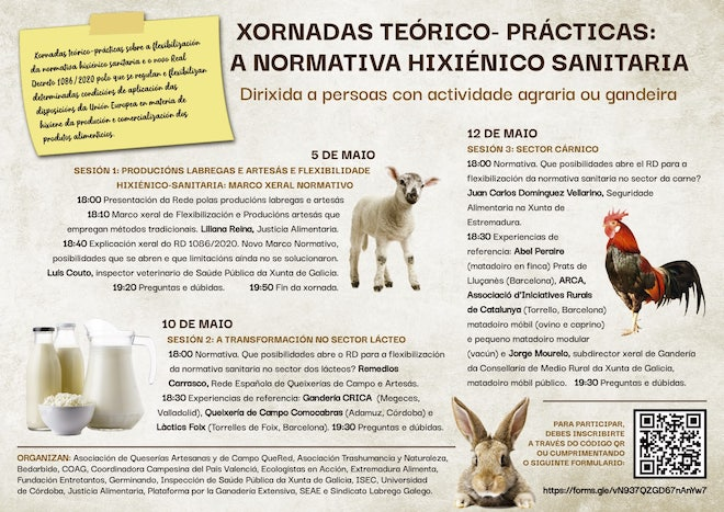 cartel xornadas sanitarias