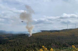 Oposición ecoloxista ás queimas controladas en monte