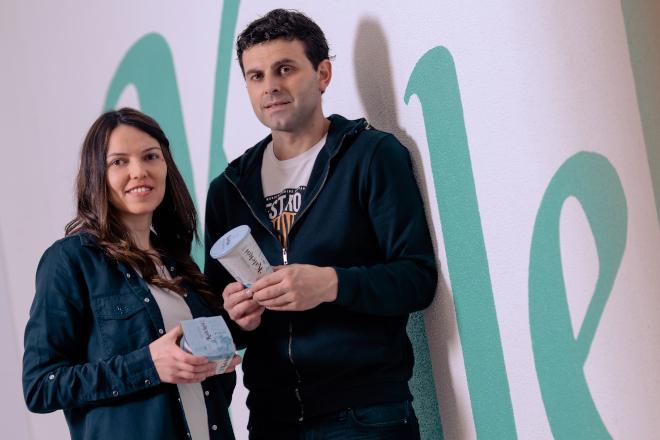 A empresa galega Kalekói, pioneira en lanzar ao mercado iogures con leite A2