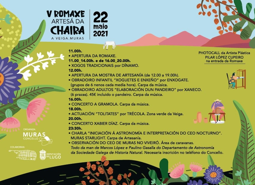 PROGRAMA ROMAXE ARTESAÁ CHAIRA