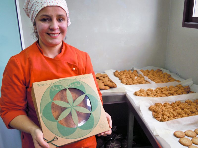 Torta de Sarria, a receita da avoa Filomena