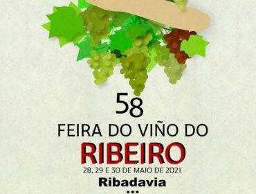 Presentado o cartaz da Feira do Viño do Ribeiro 2021